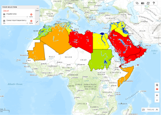 Arab Spatial Mapping Tool