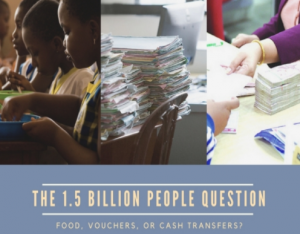 Cash it out? Why food-based programs exist, and how to improve them